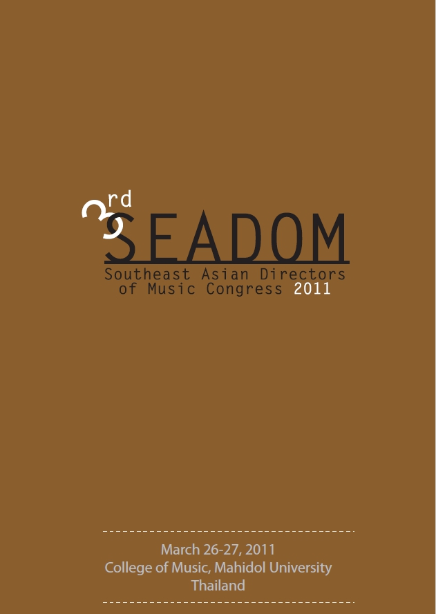 The 3rd SEADOM Congress 2011