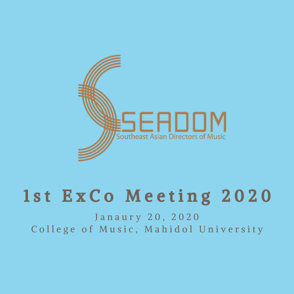 The 1st SEADOM ExCo Meeting 2020