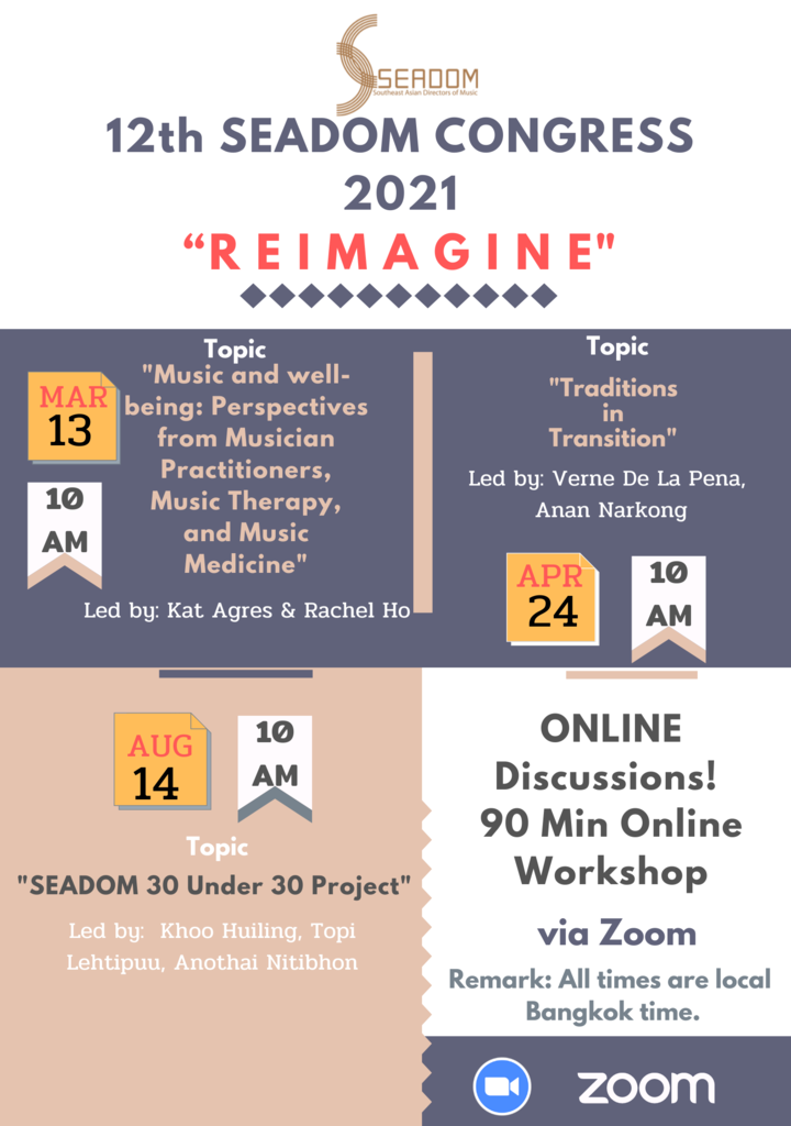"The 12th SEADOM CONGRESS 2021 ""REIMAGINE"""
