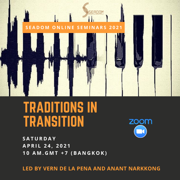 "SEADOM online seminar ""Traditions in Transition"""