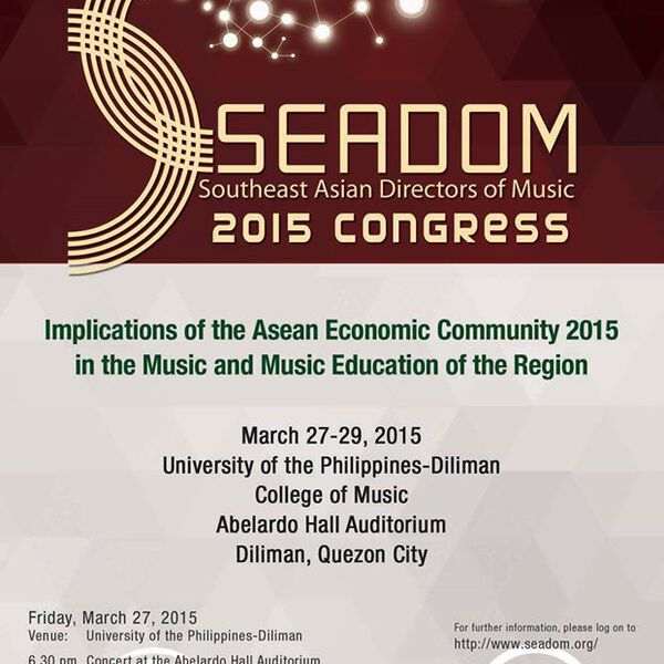 The 7th SEADOM Congress 2015