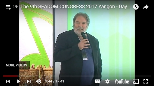 The 9th SEADOM CONGRESS 2017 Yangon - Day 1 ep.1